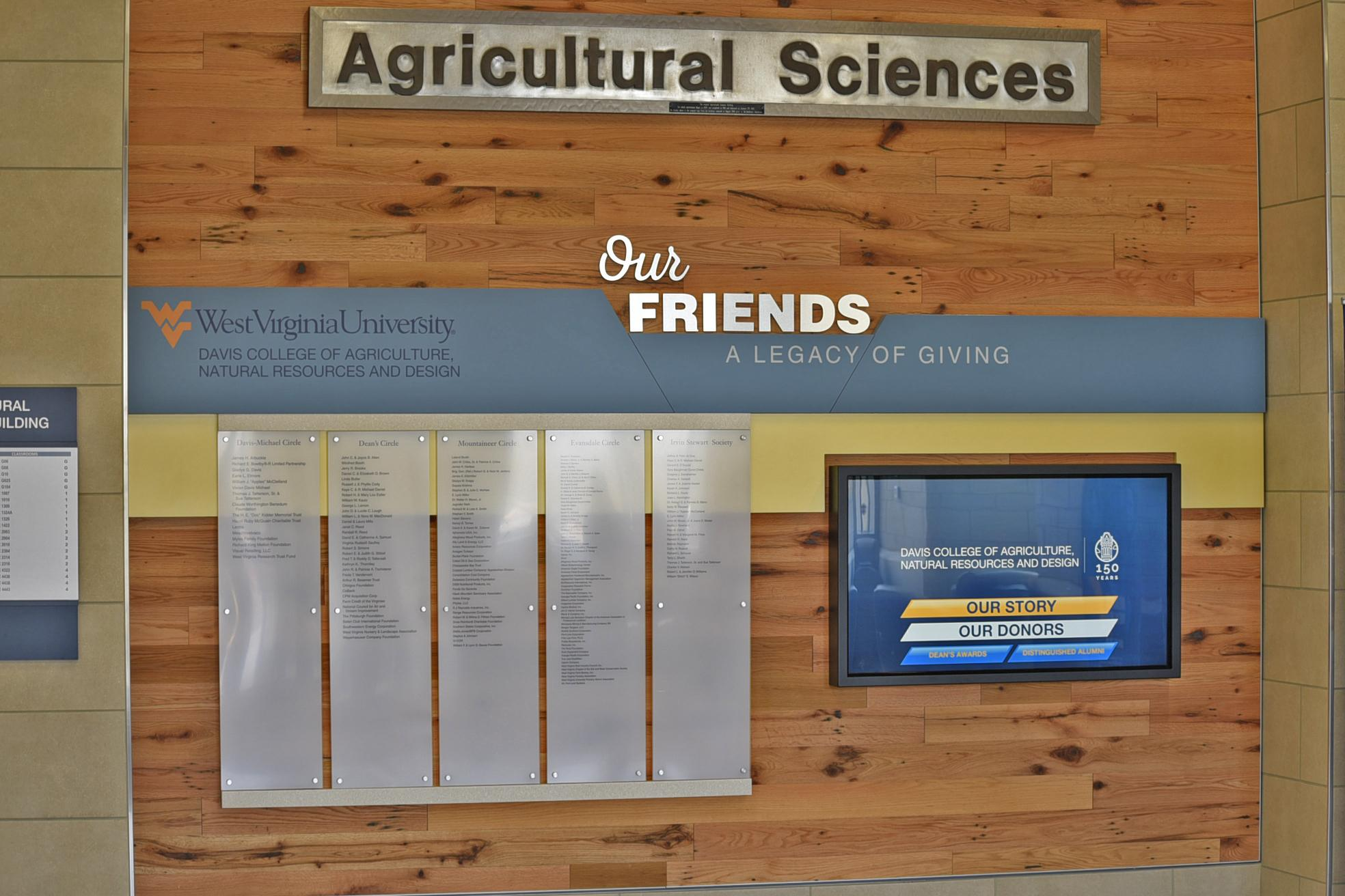 WVU Agricultural Science Touch Screen
