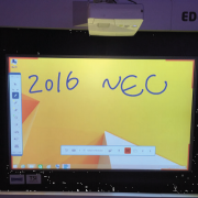 2016 NYC Trade Show - NEC Projector