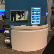 DSE 2017: TSItouch Infrared Touch Kiosk - Four Winds Interactive Booth