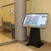 Rochester, NY Unity Hospital: Infrared Interactive Touch Solution