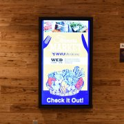 West Virginia University: Samsung DM48 with ShadowSense Touch Overlay 4