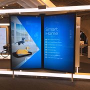 "AT&T San Francisco: 98"" LG Displays with Infrared Touch Overlays"