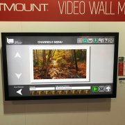 DSE 2017 Peerless Booth: LG 49UH5C-B Display With Projected Capacitive Touch Overlay