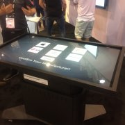 DSE Baanto Booth: Tabletop ShadowSense Touch Overlay