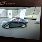 DSE 2018 Planar Booth: 2W x 2H with Planar Displays and ShadowSense Touch Overlay