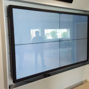 Corpus Christie: 2W x 2H Interactive Video Wall Solution