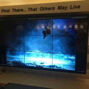 Hurlburt Field 3W x 3H Interactive Video Wall Solution