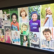 Columbus Children's Hospital: 3W x 1H Portrait Interactive Video Wall 1